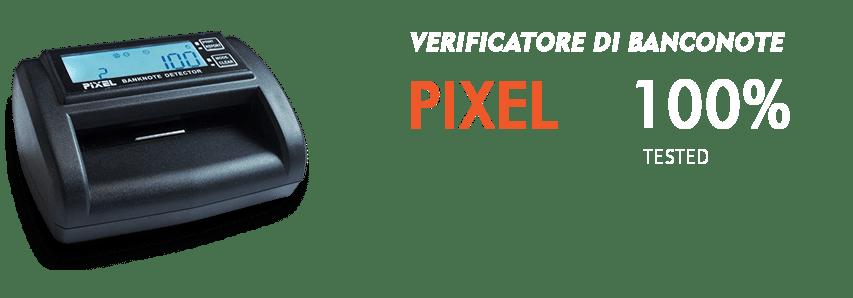 pixel verificatore banconote