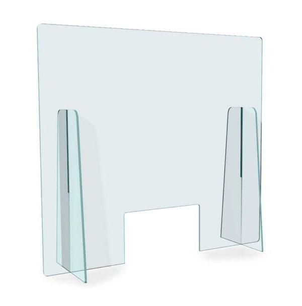 separatore plexiglass pannello parasputi