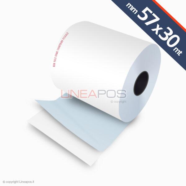rotoli adesivi per bilancia 57x30